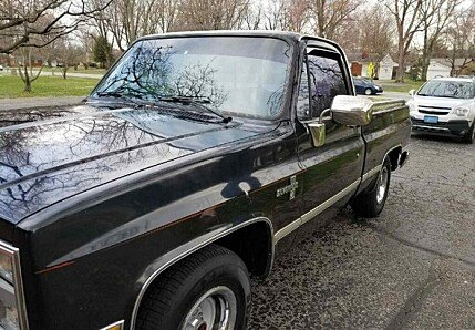 1987 chevrolet C/K Truck 2WD Regular Cab 1500 for sale 100963015